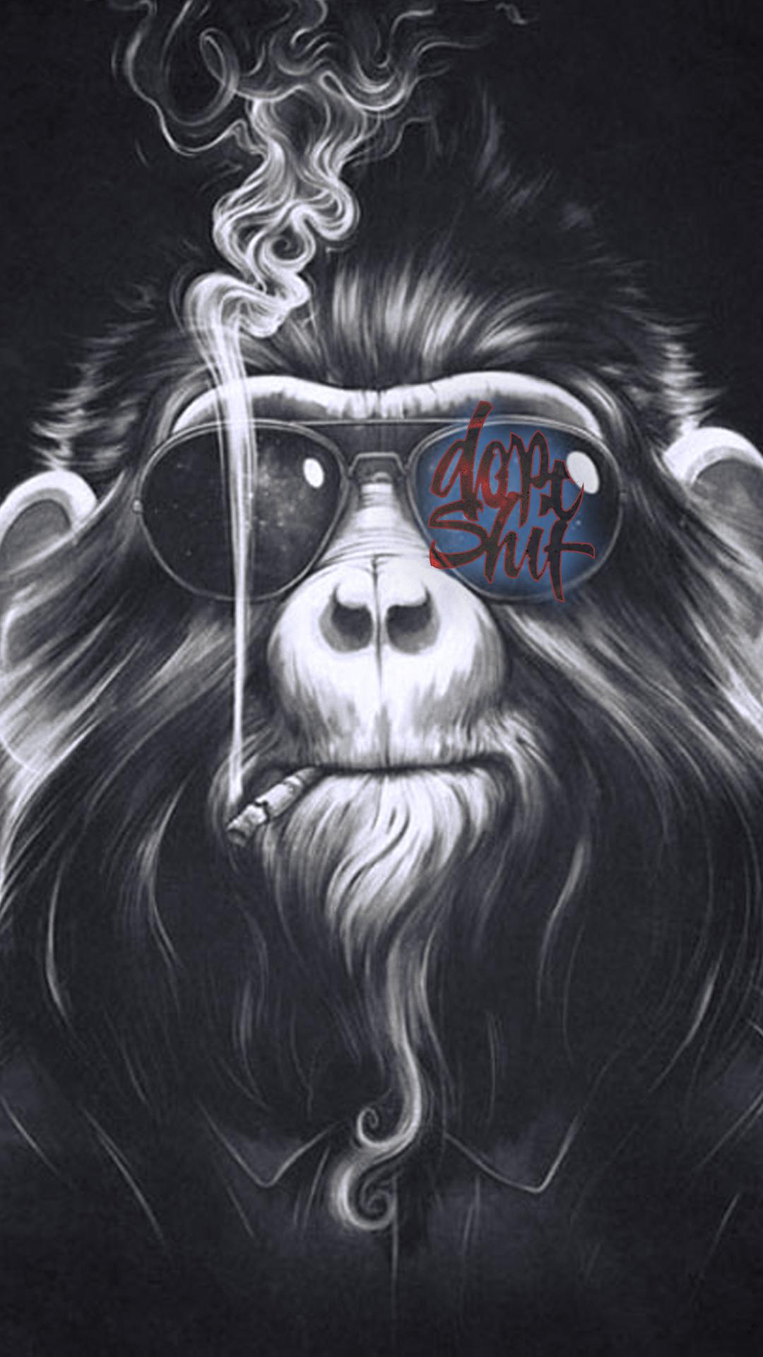 1080x1920 khỉ dope - Nhấn để xem thêm hình nền Dope!  - iPhone 8