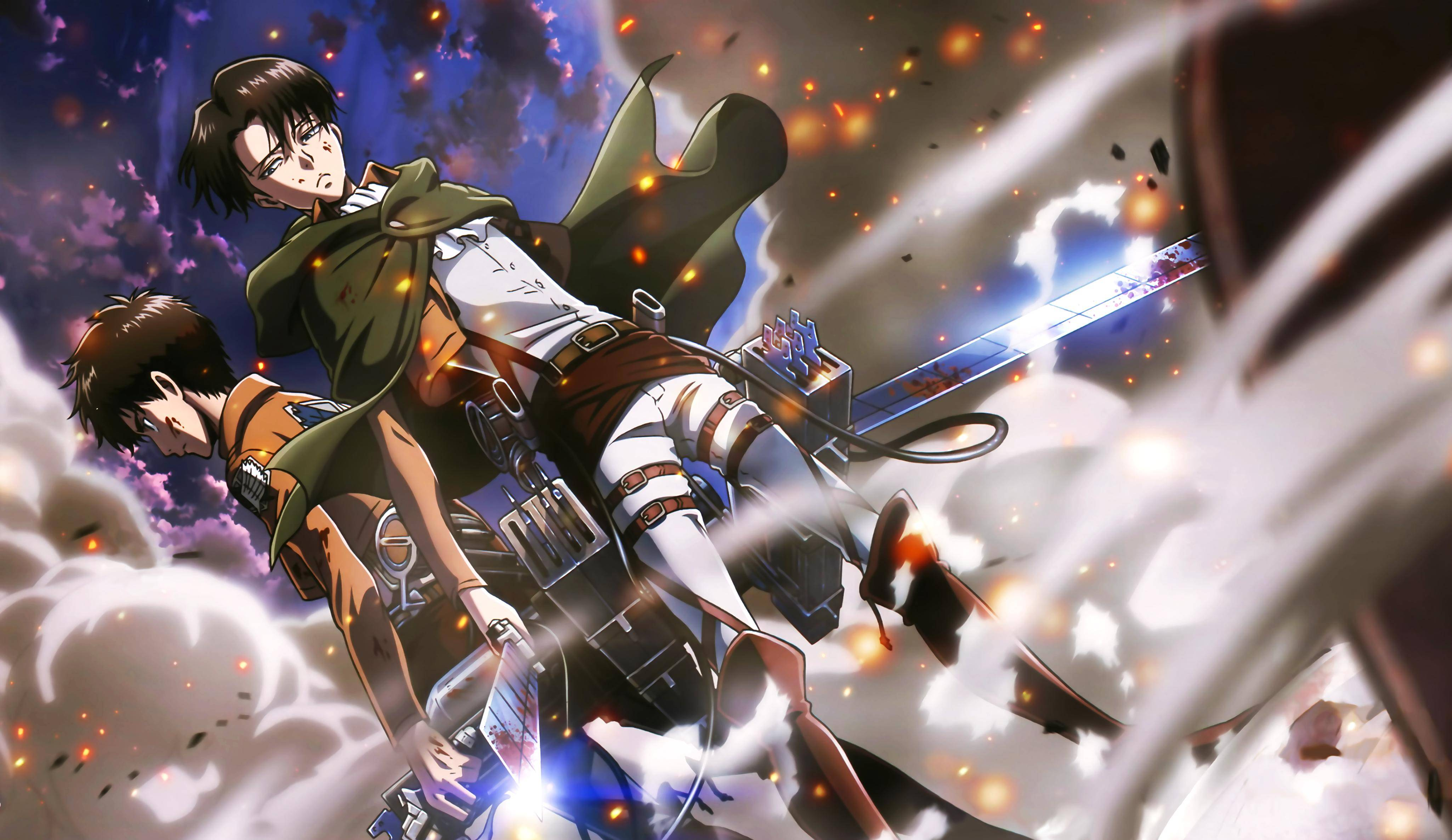 Levi Attack On Titan Wallpapers Top Free Levi Attack On