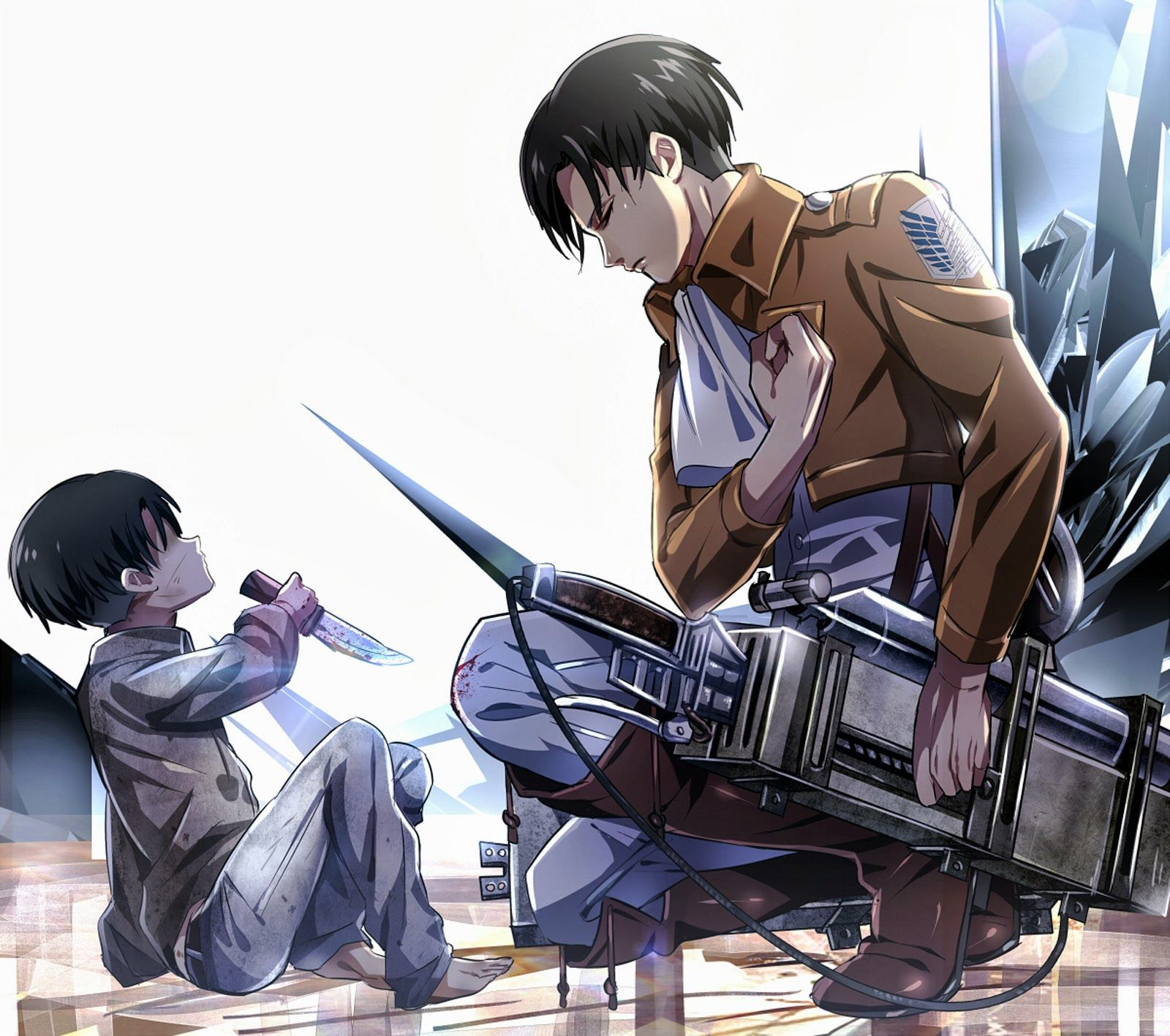 Levi Attack On Titan Wallpapers Top Free Levi Attack On Titan