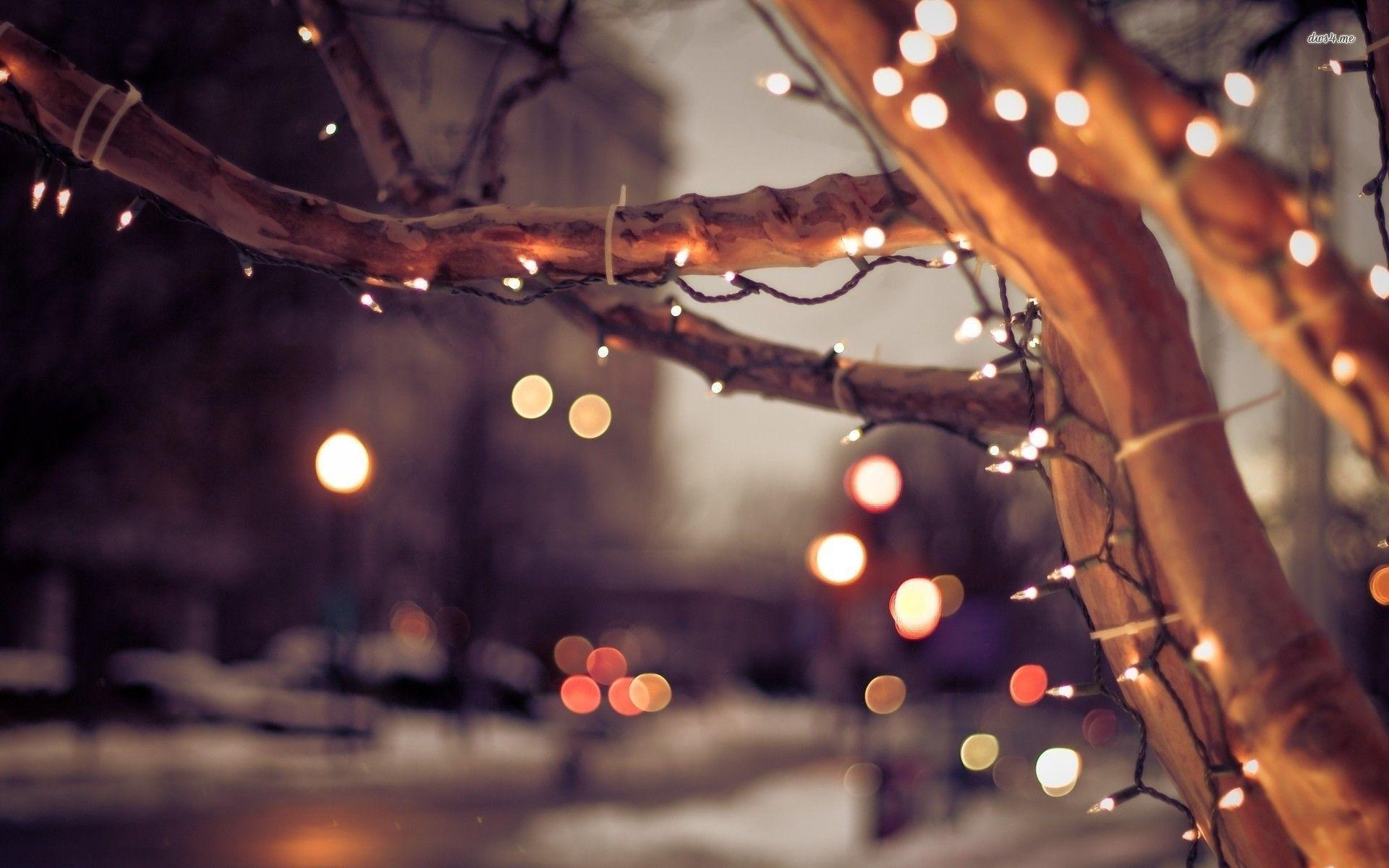 December Christmas Lights Wallpapers Top Free December