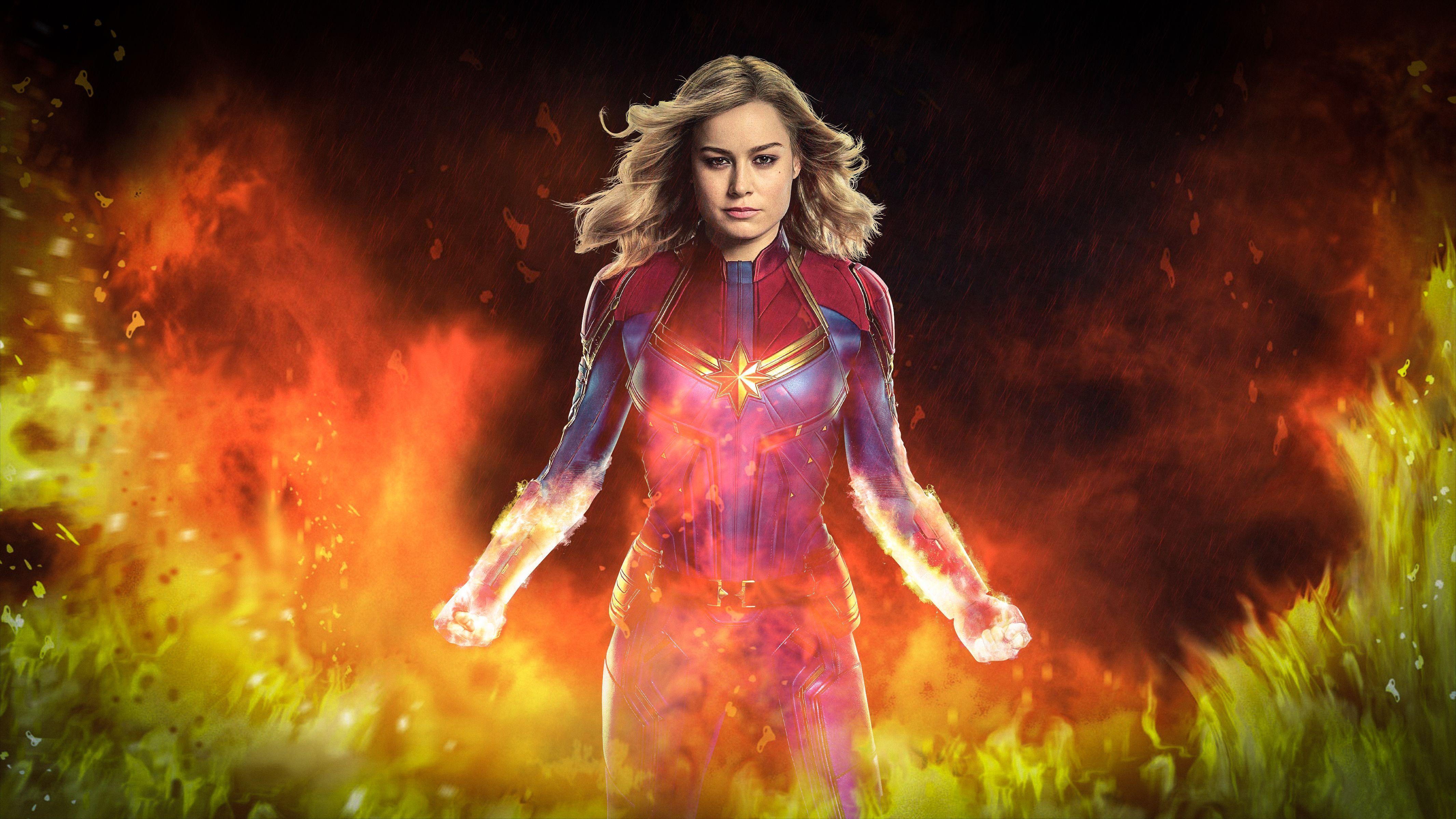Captain Marvel 4k Wallpapers Top Free Captain Marvel 4k