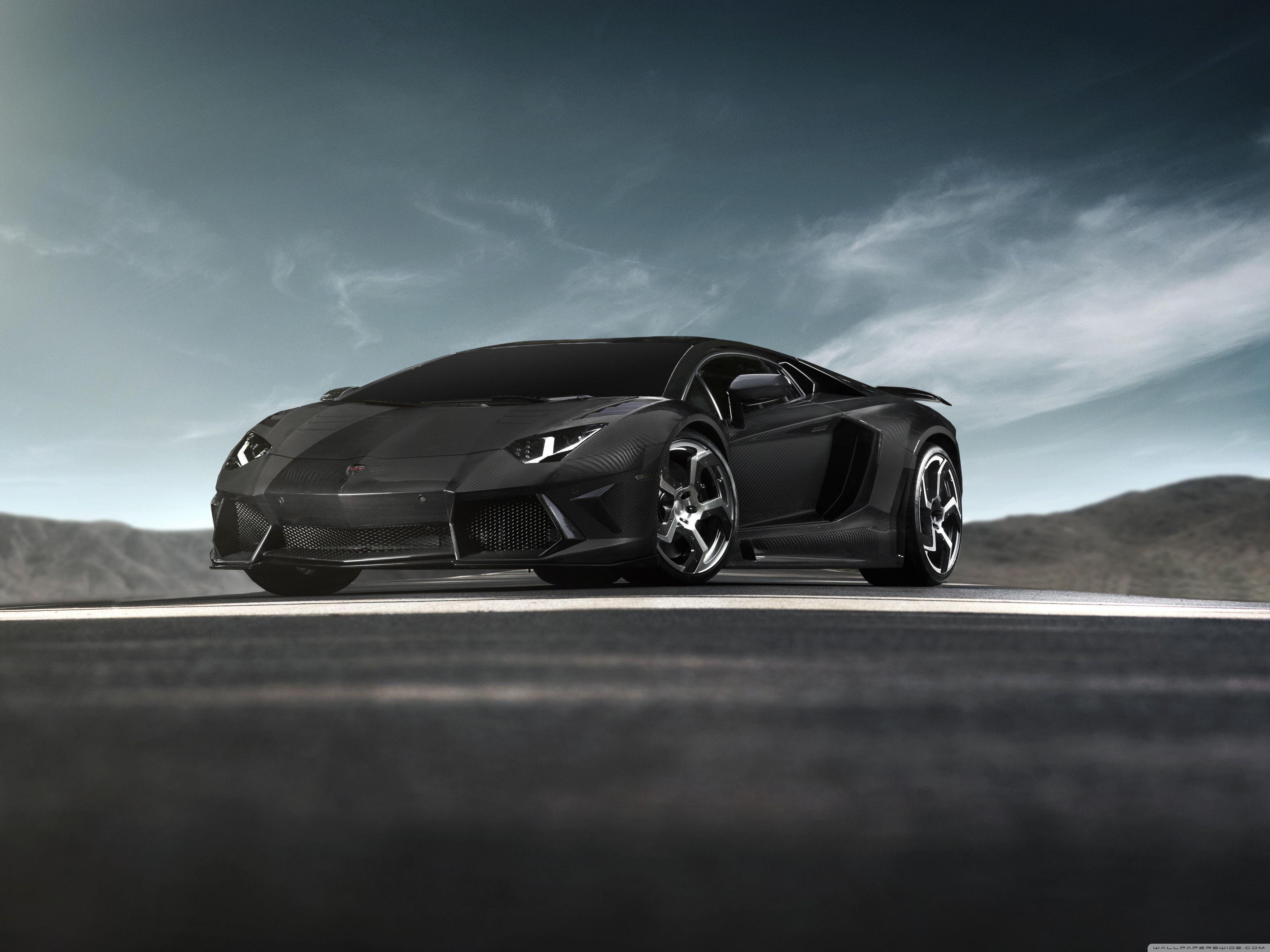 Black Lamborghini Hd Wallpapers Top Free Black Lamborghini Hd Backgrounds Wallpaperaccess