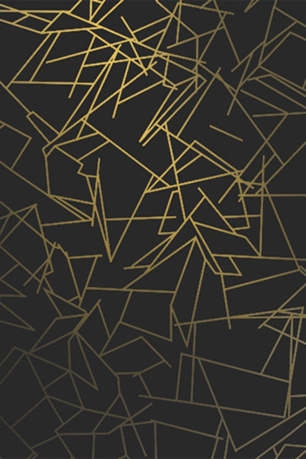 1398x2592 Black Gold Wallpaper Iphone 6 36