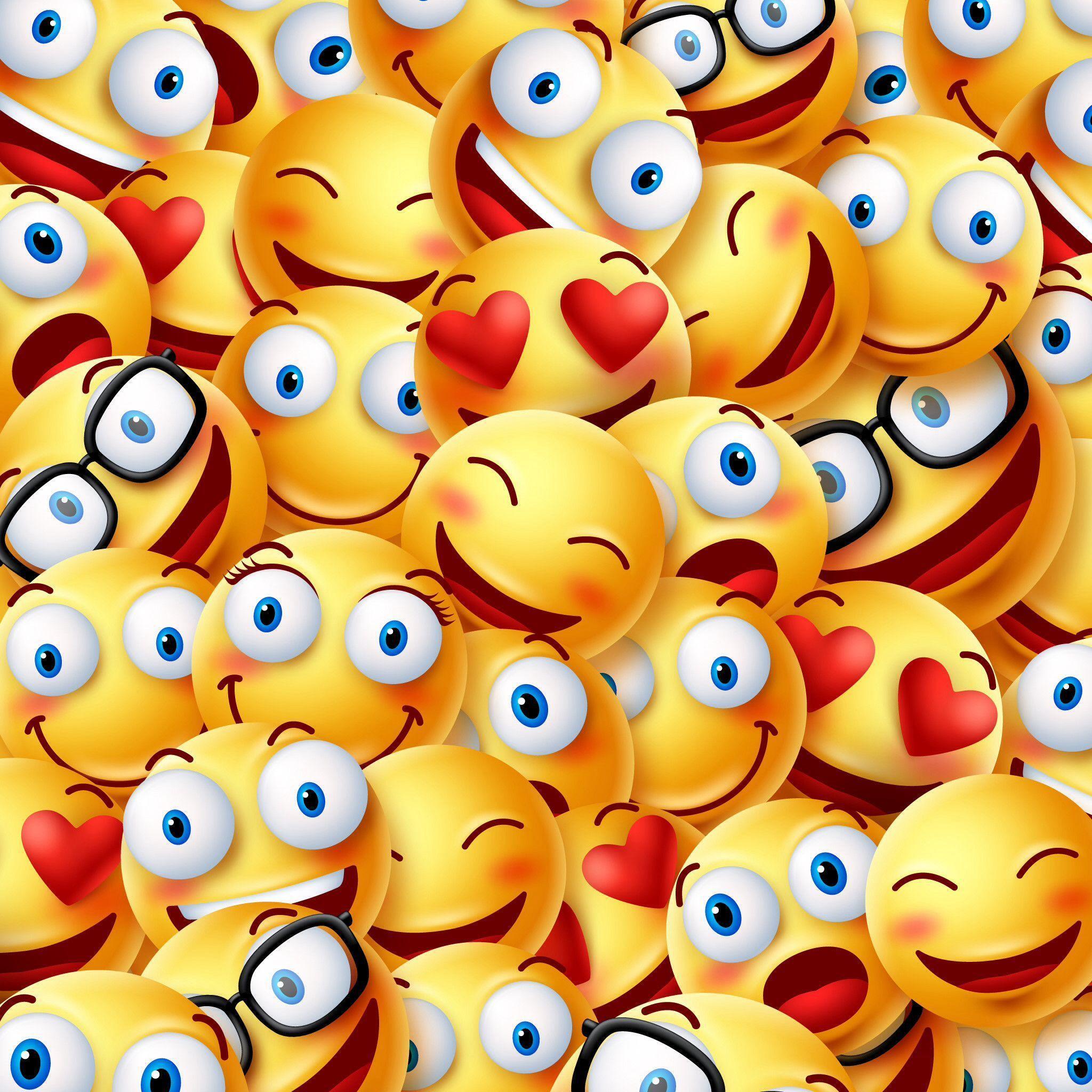 Smile Emoji Wallpapers - Top Free Smile Emoji Backgrounds ...