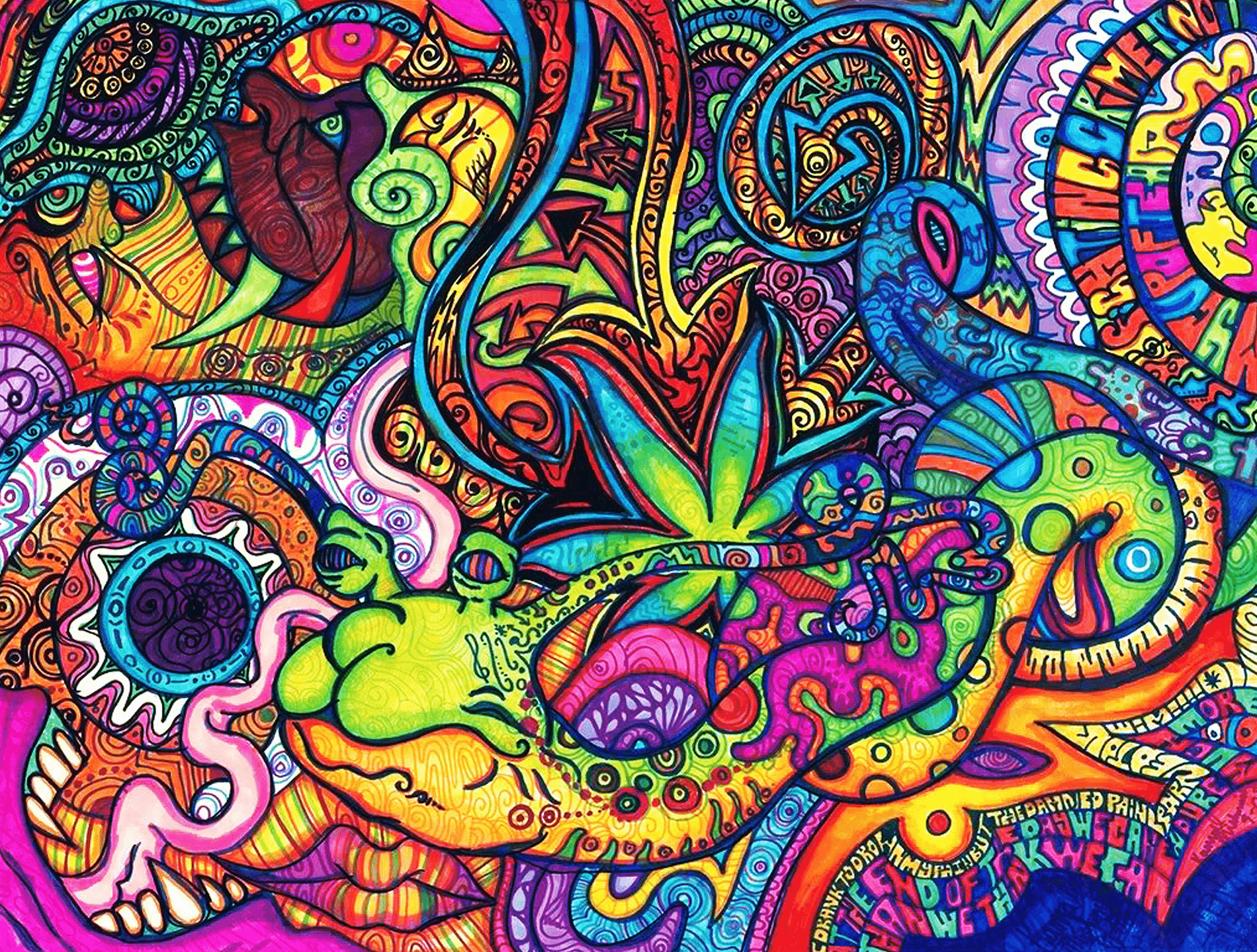 Trippy Laptop Wallpapers Top Free Trippy Laptop Backgrounds