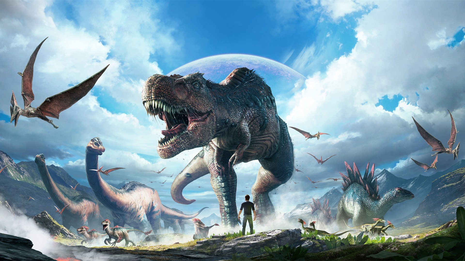 Ark Wallpapers Top Free Ark Backgrounds Wallpaperaccess