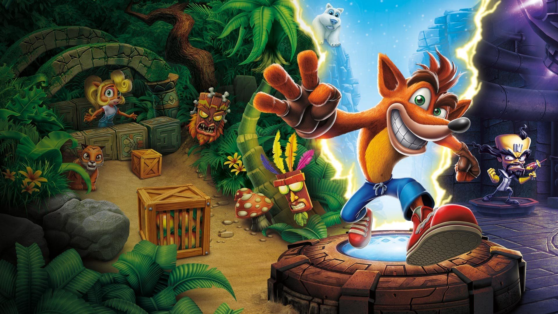 Crash Bandicoot Wallpapers - Top Free