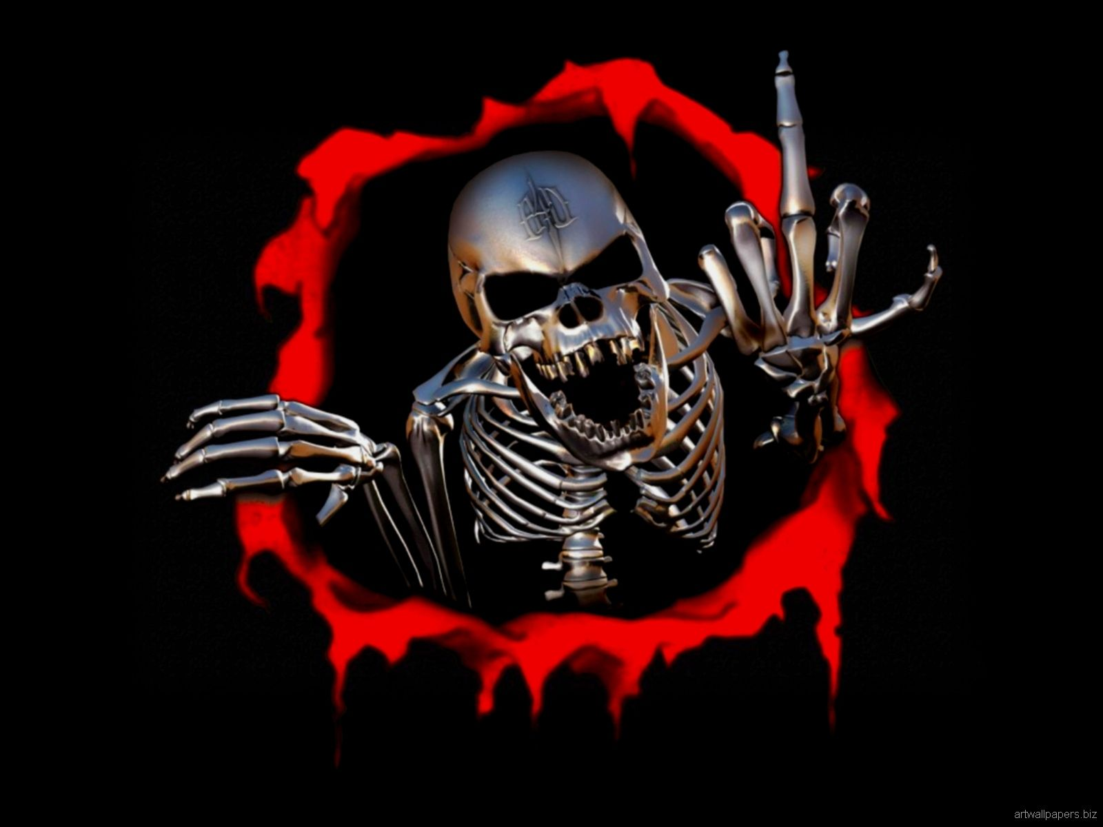 Awesome Skull Wallpapers - Top Free Awesome Skull