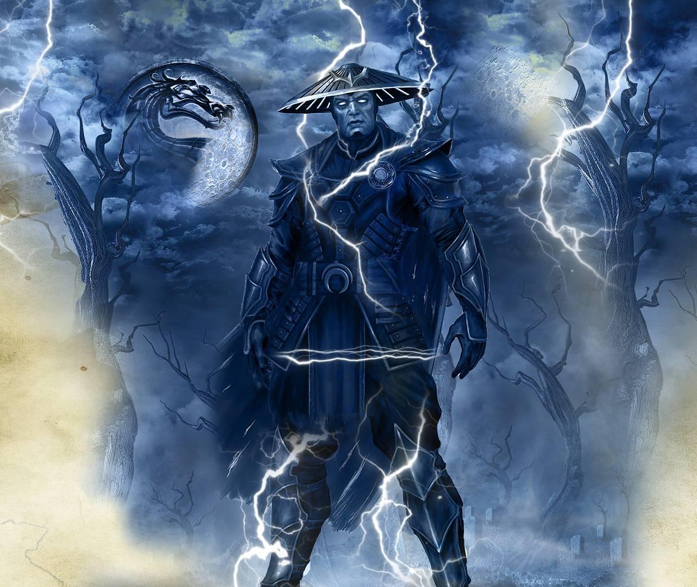 original mortal kombat characters raiden