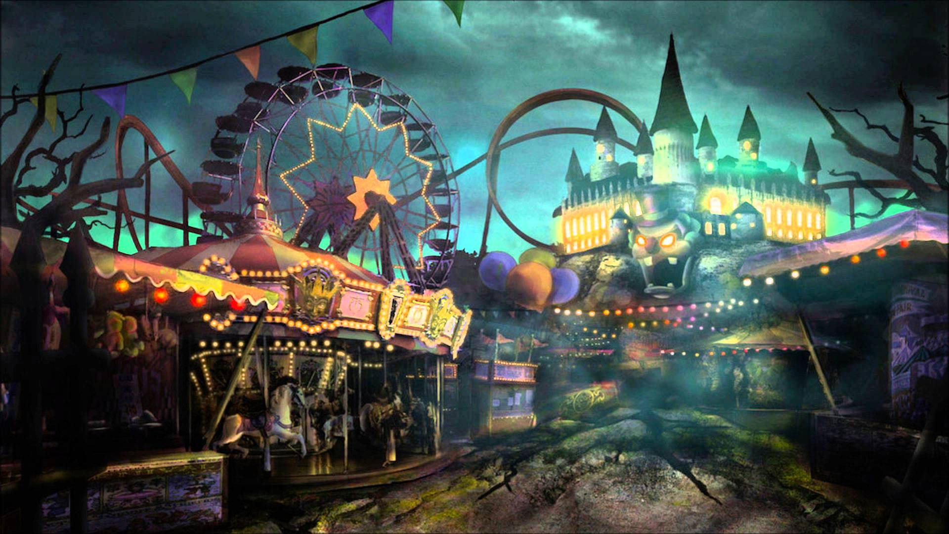 Theme Park Wallpapers Top Free Theme Park Backgrounds Wallpaperaccess