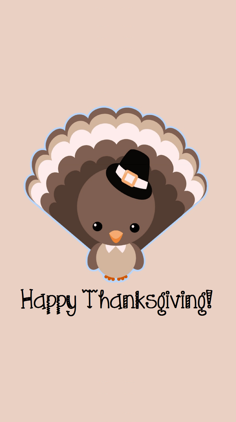 Cute Happy Thanksgiving Wallpapers Top Free Cute Happy Thanksgiving Backgrounds Wallpaperaccess