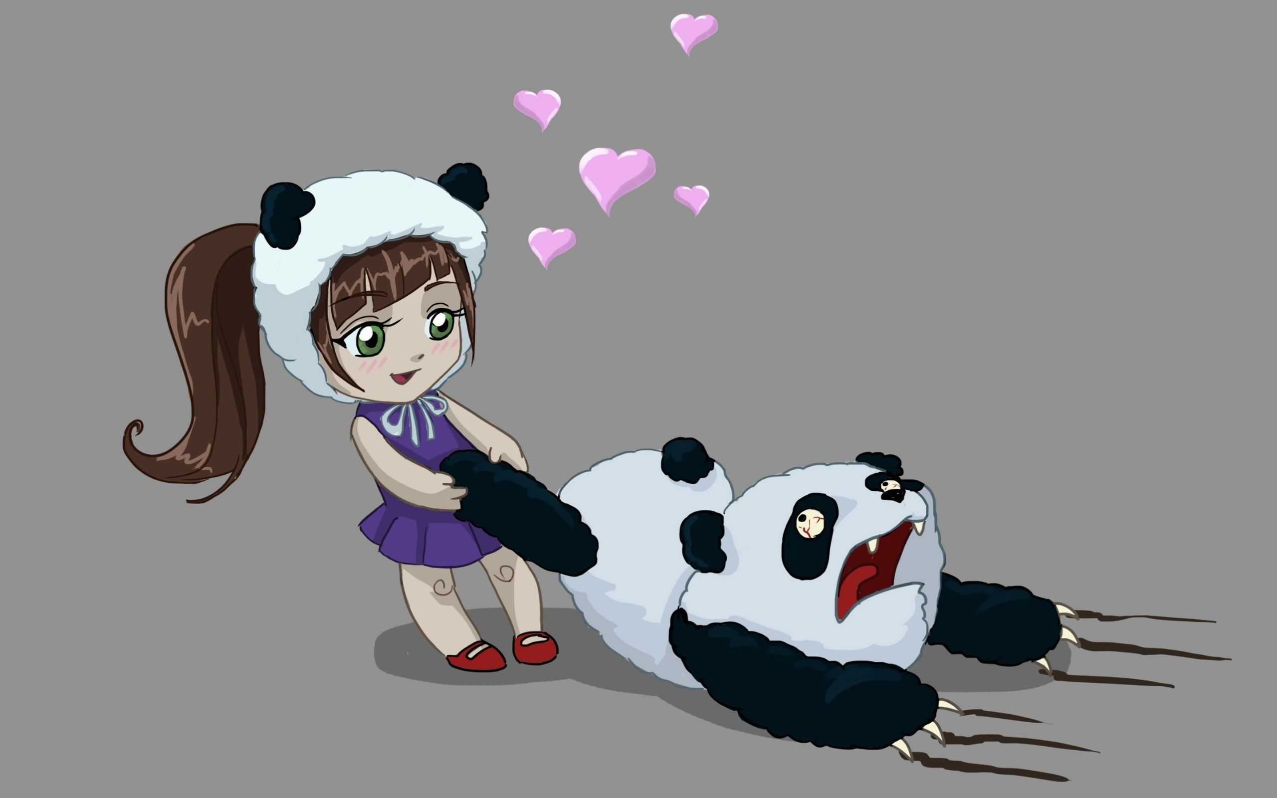 Kawaii Panda Girl Wallpapers - Top Free Kawaii Panda Girl