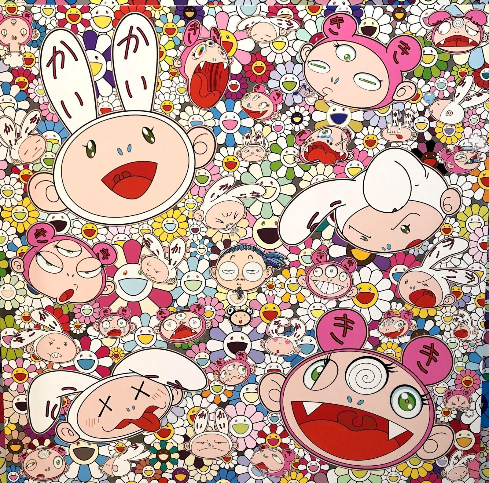Takashi Murakami 4K Wallpapers - Top Free Takashi Murakami ...