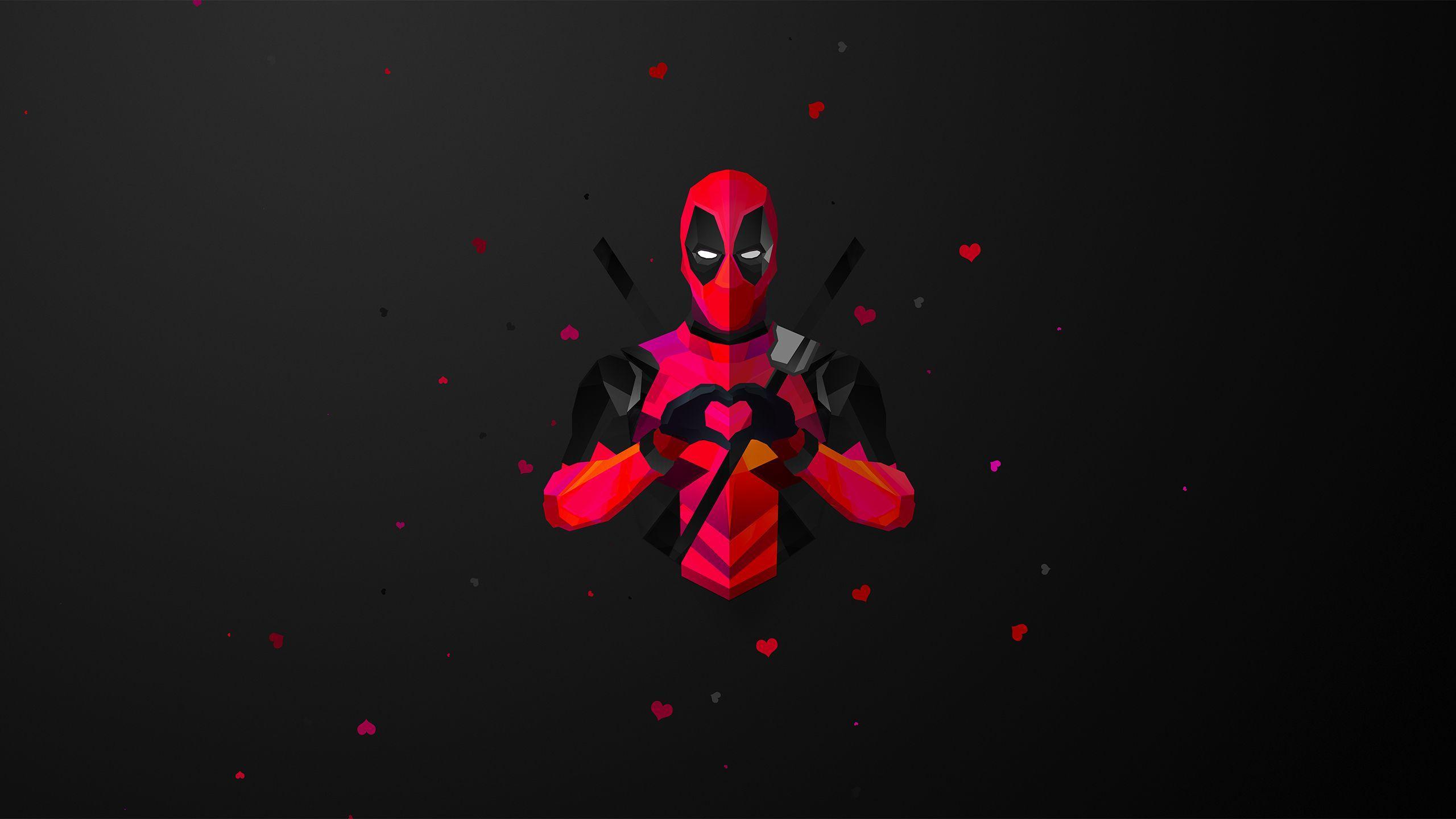 2560x1440 Hình nền Deadpool, Siêu anh hùng người Mỹ, 4K, 8K, HD, Phim