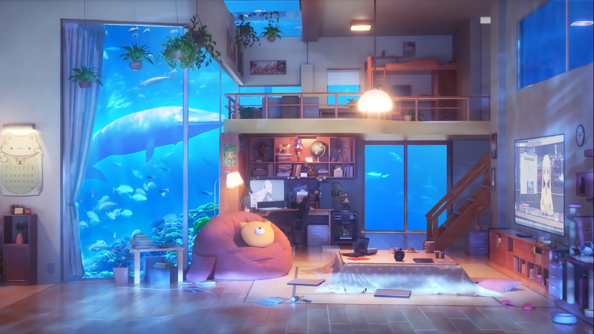 Anime Room Wallpapers Top Free Anime Room Backgrounds Wallpaperaccess