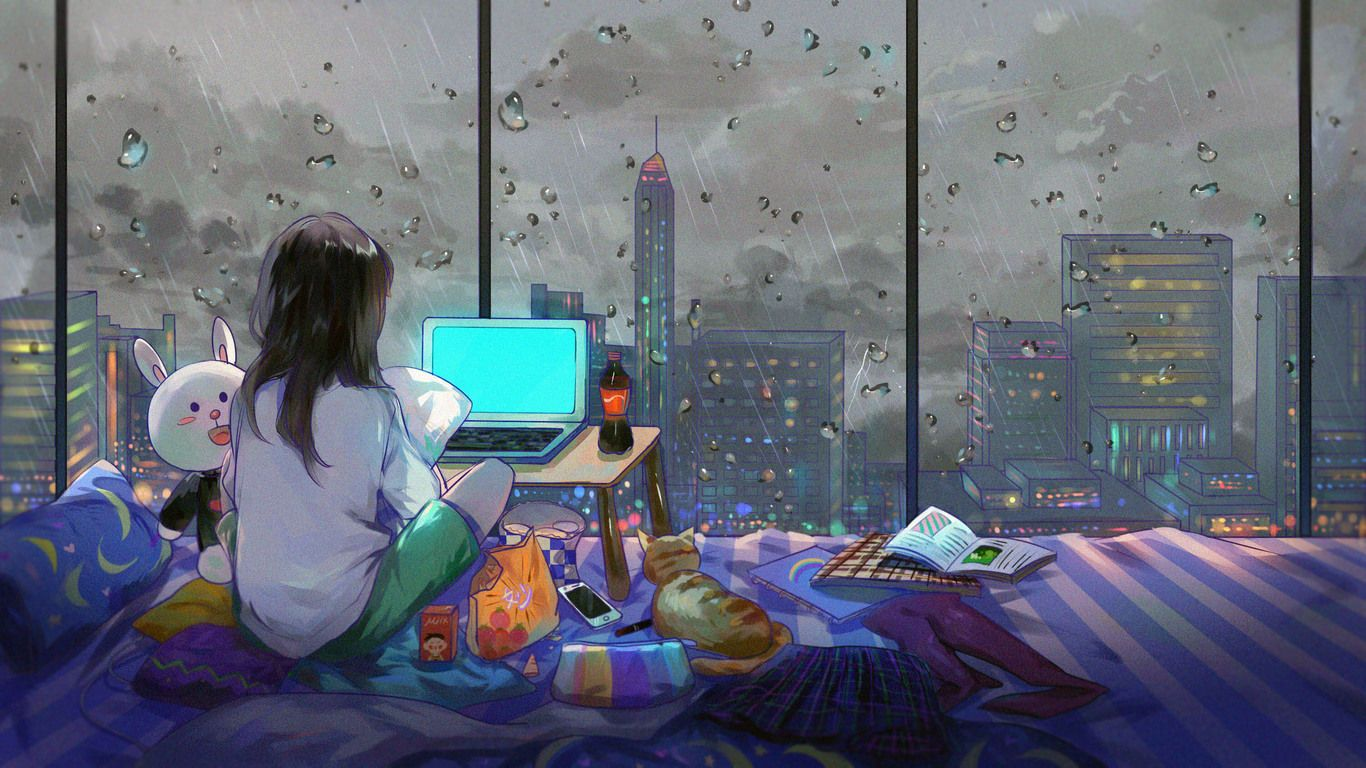 Anime Room Wallpapers - Top Free Anime Room Backgrounds ...