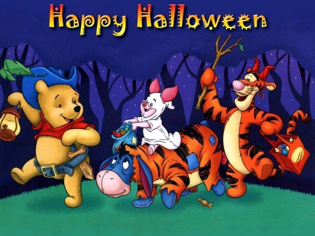 Winnie The Pooh Halloween Wallpapers Top Free Winnie The Pooh