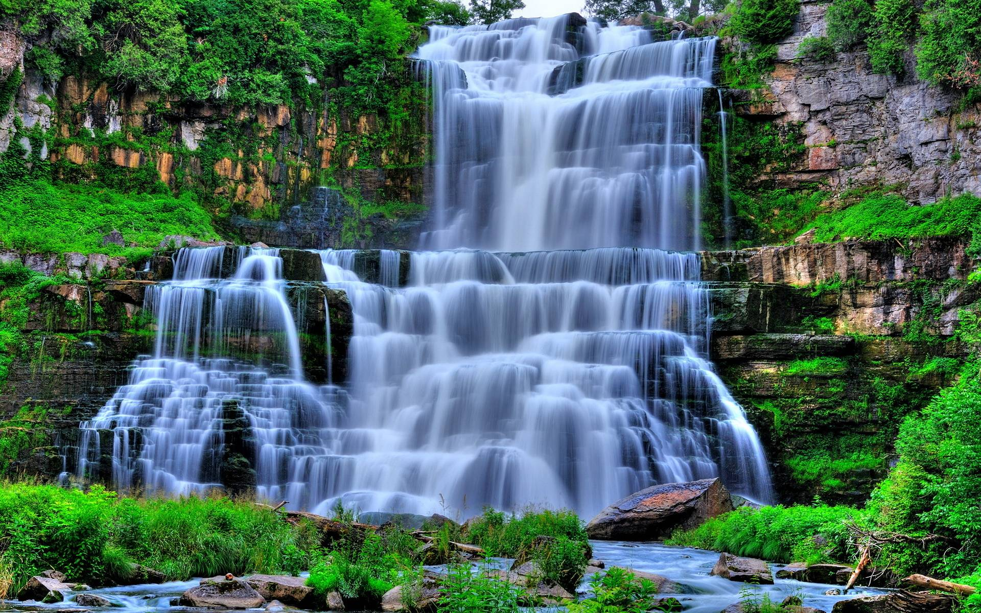 Hd Waterfall Wallpapers Top Free Hd Waterfall Backgrounds Wallpaperaccess