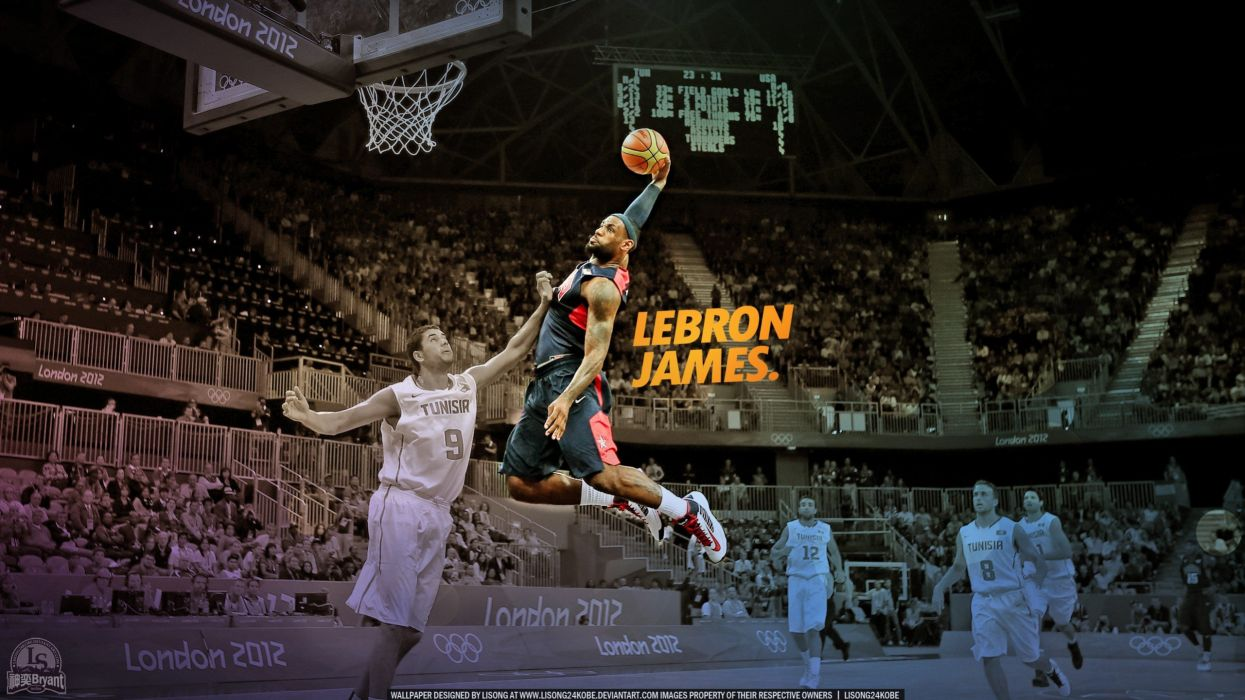 Lebron James Dunk Wallpapers Top Free Lebron James Dunk