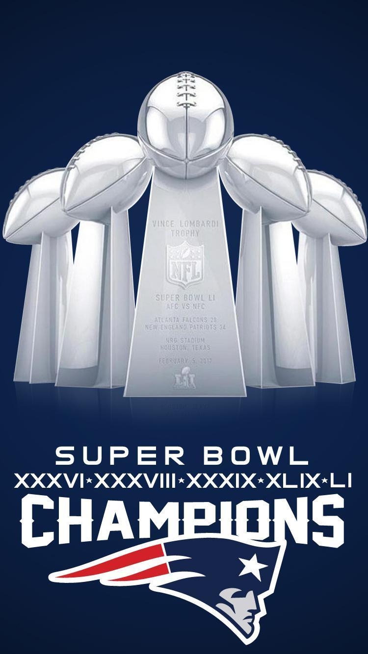 Patriots super bowl 51 wallpapers top free patriots - Patriots super bowl champs wallpaper ...