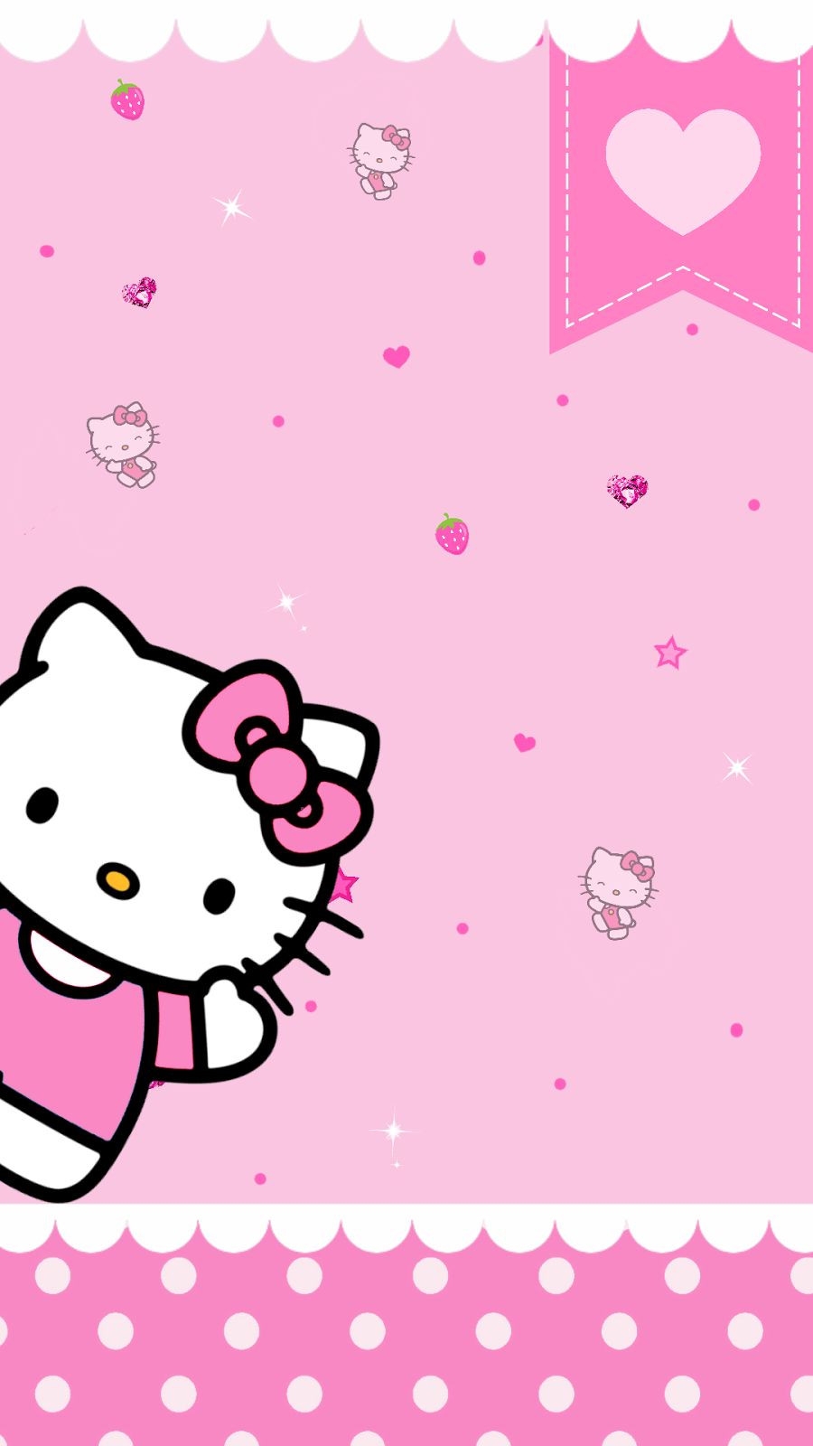 Pink Hello Kitty Wallpapers Top Free Pink Hello Kitty Backgrounds Wallpaperaccess