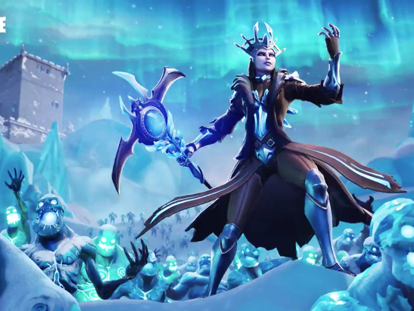 Fortnite Ice King Wallpapers Top Free Fortnite Ice King Backgrounds Wallpaperaccess