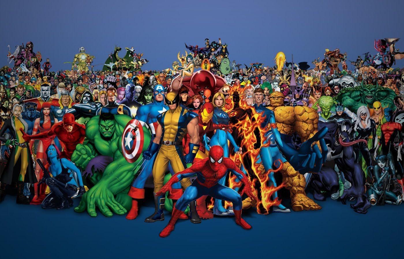 тому, марвел фото всех героев по одному того, как