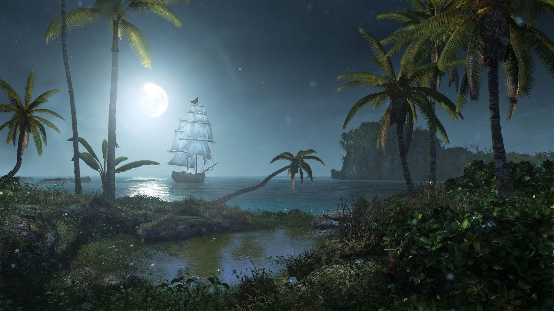 Caribbean Night Wallpapers Top Free Caribbean Night Backgrounds Wallpaperaccess