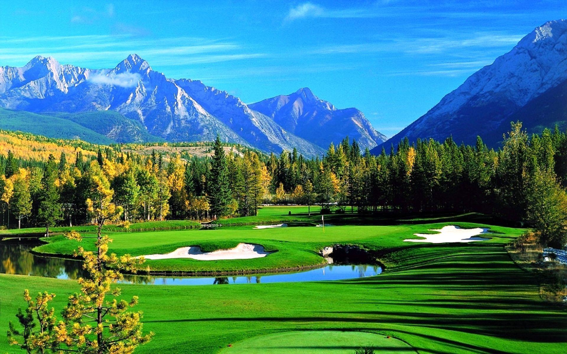 Golf Course Desktop Wallpapers Top Free Golf Course Desktop Backgrounds Wallpaperaccess