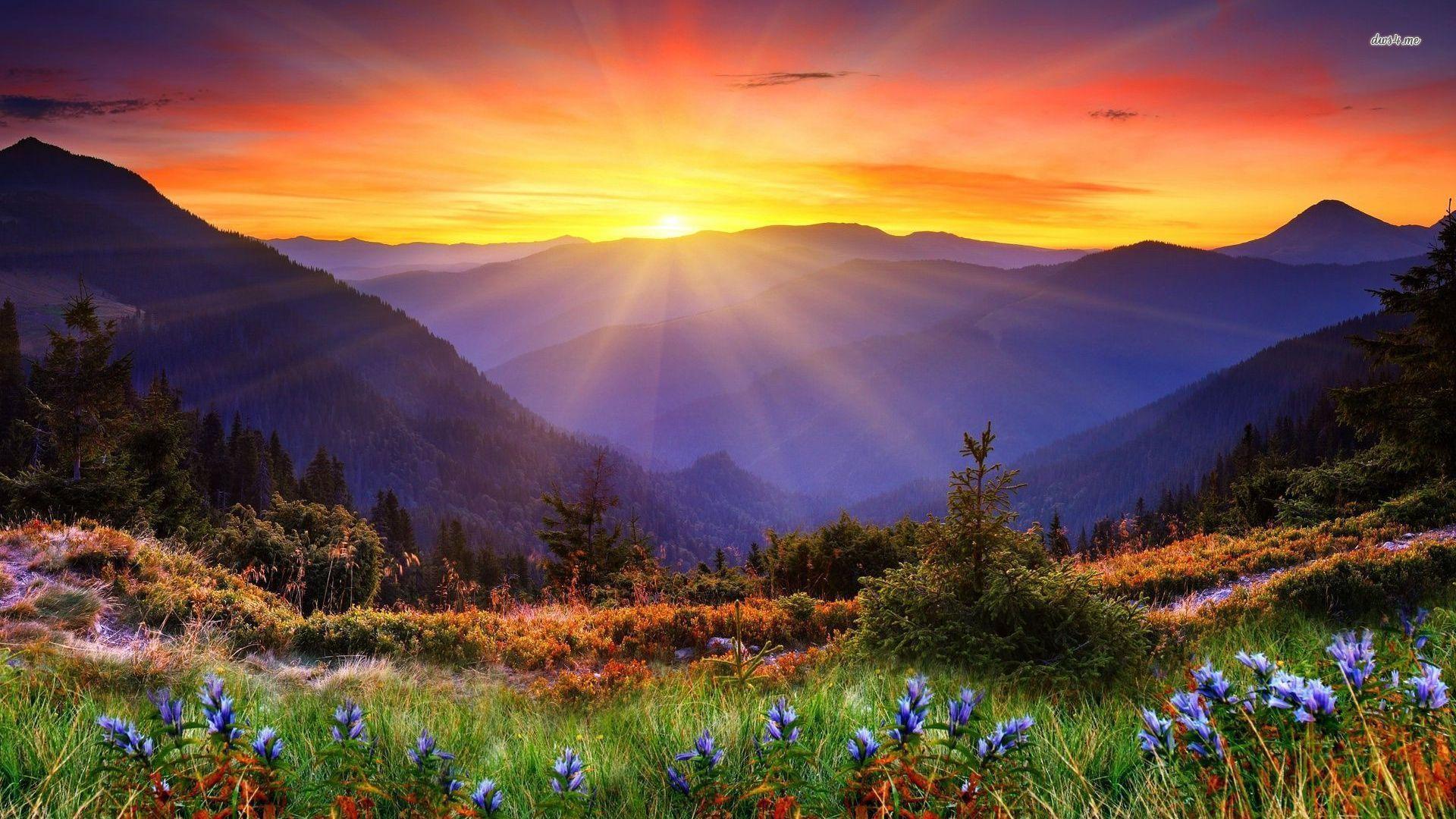 Mountain Sunrise Wallpapers Top Free Mountain Sunrise