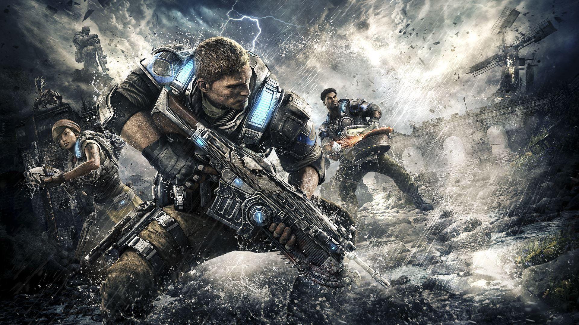 Gears Of War 4 Wallpapers Top Free Gears Of War 4 Backgrounds