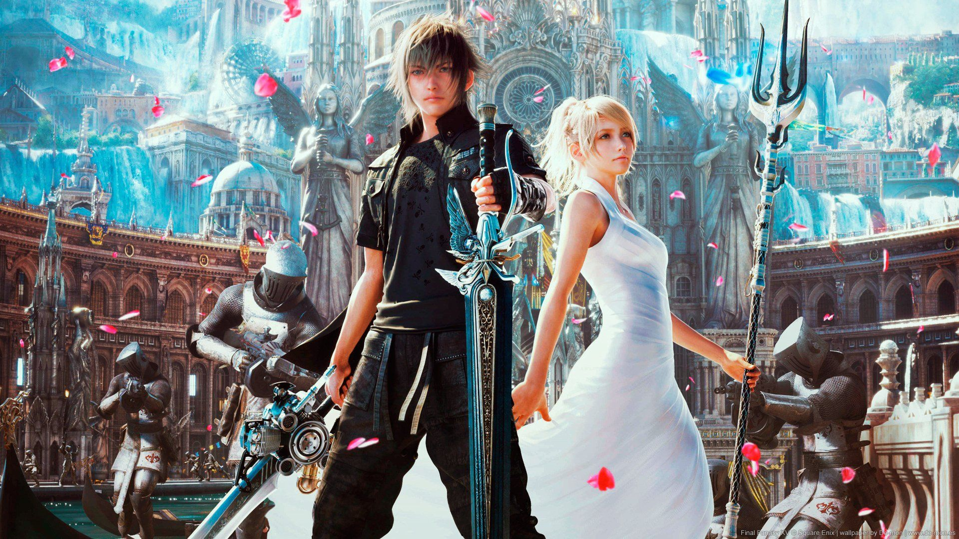 Final Fantasy 15 Wallpapers Top Free Final Fantasy 15 Backgrounds Wallpaperaccess