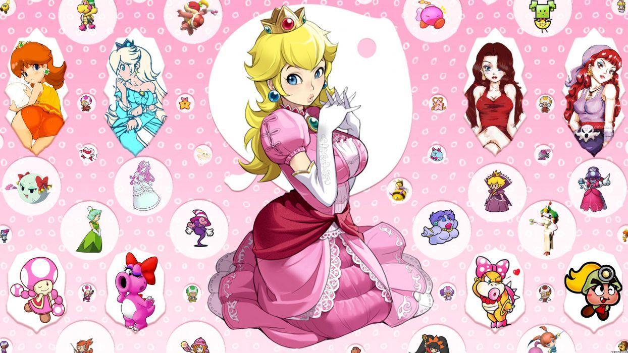 Princess Peach Wallpapers Top Free Princess Peach Backgrounds Wallpaperaccess