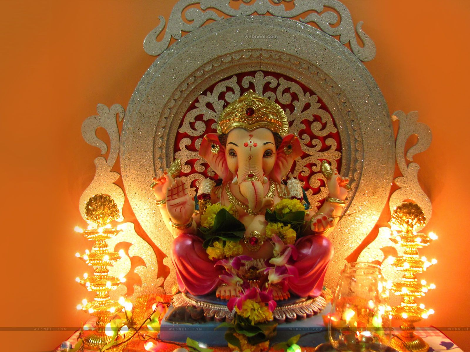 Ganesh Wallpapers Top Free Ganesh Backgrounds Wallpaperaccess