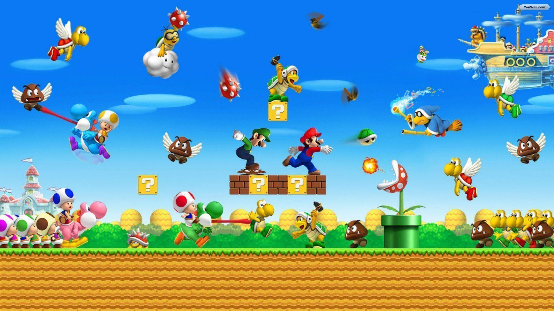 Mario World Wallpapers Top Free Mario World Backgrounds