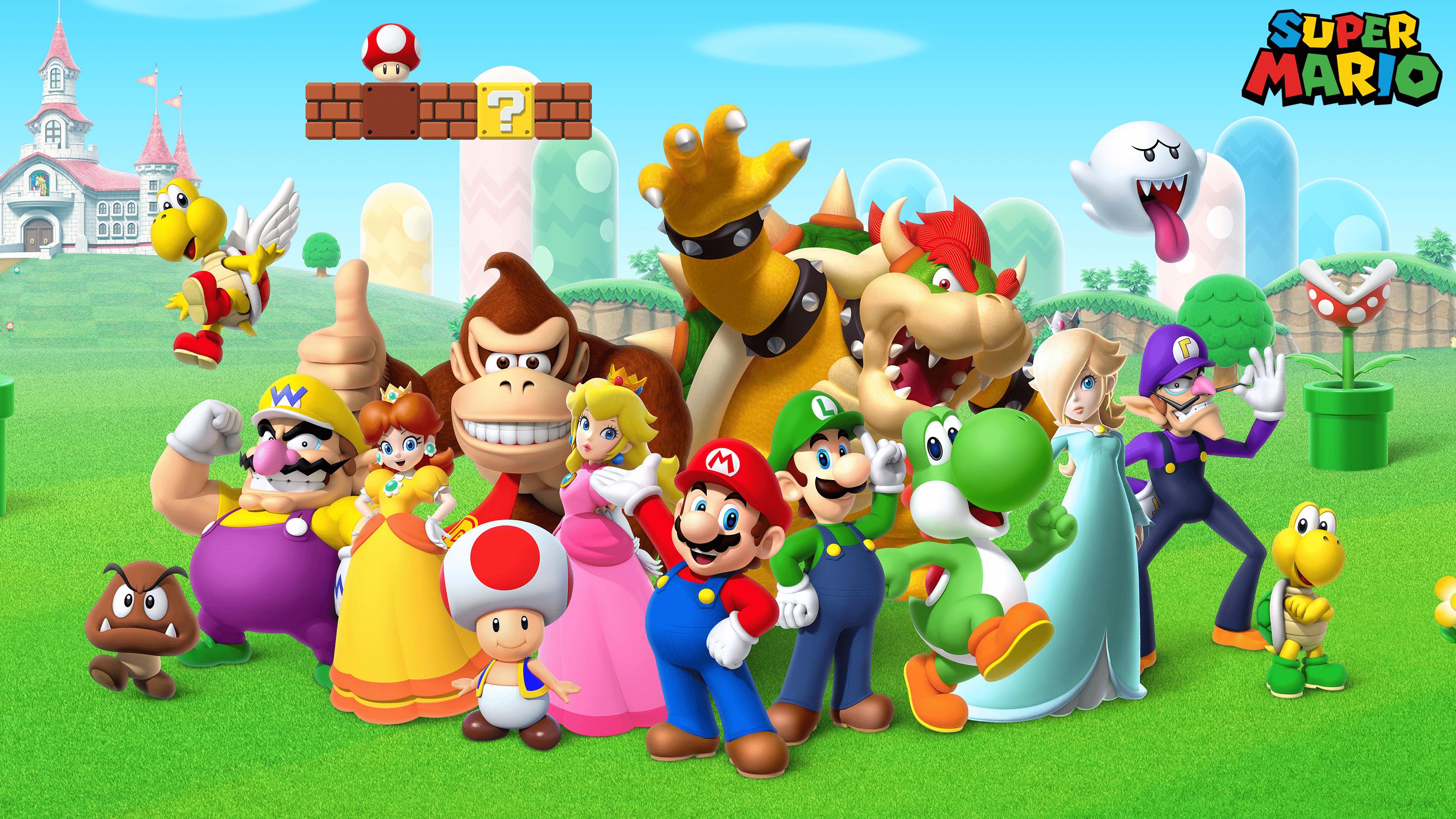 Super Mario Wallpapers Top Free Super Mario Backgrounds