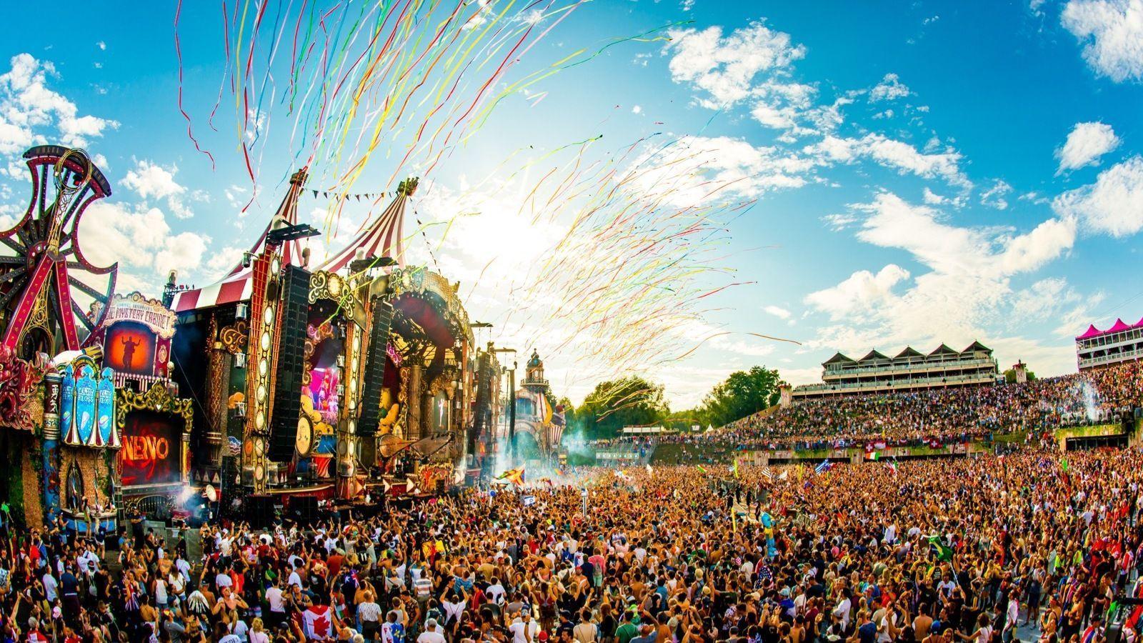 Tomorrowland Festival Wallpapers Top Free Tomorrowland