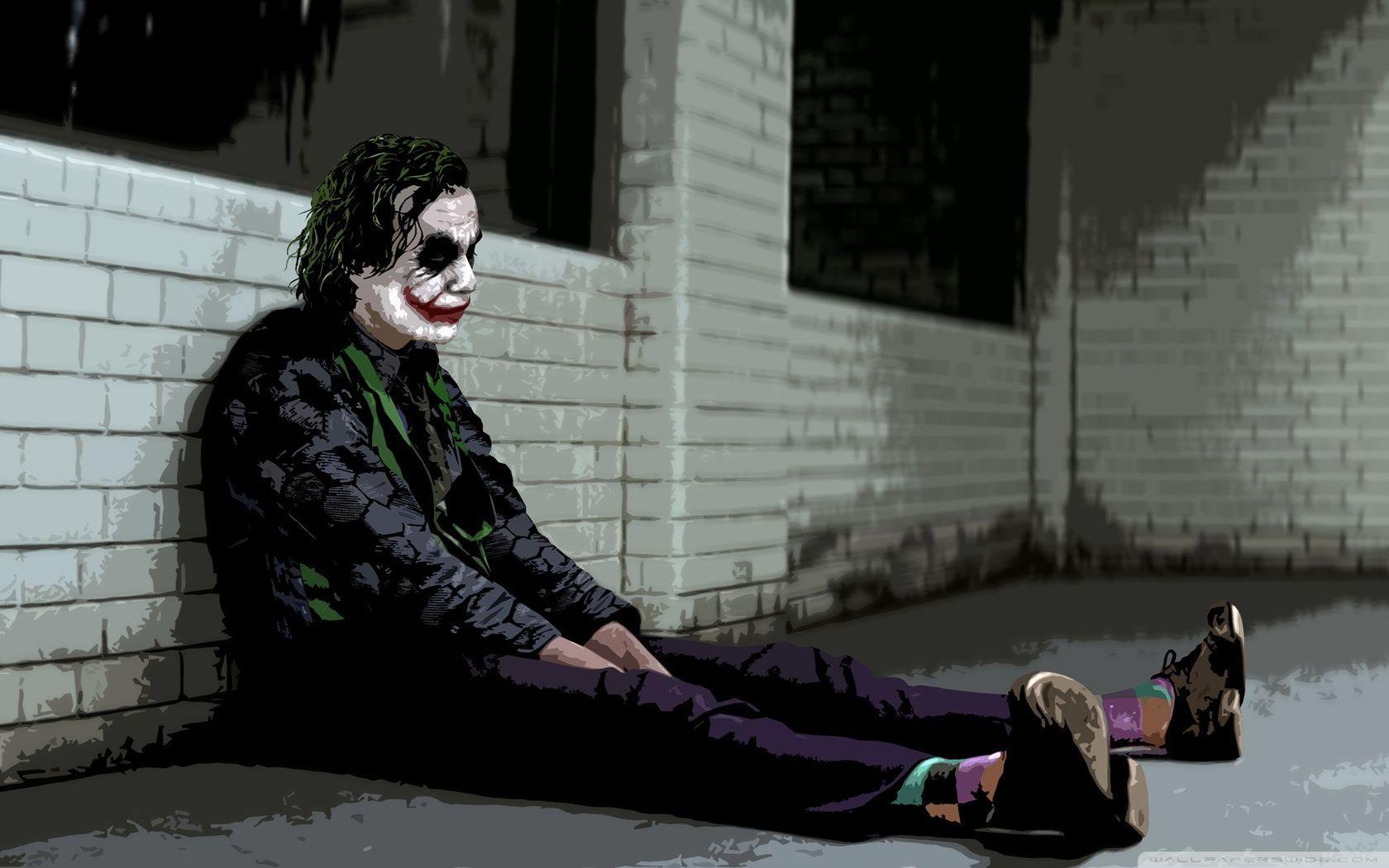 Sad Joker Wallpapers Top Free Sad Joker Backgrounds Wallpaperaccess