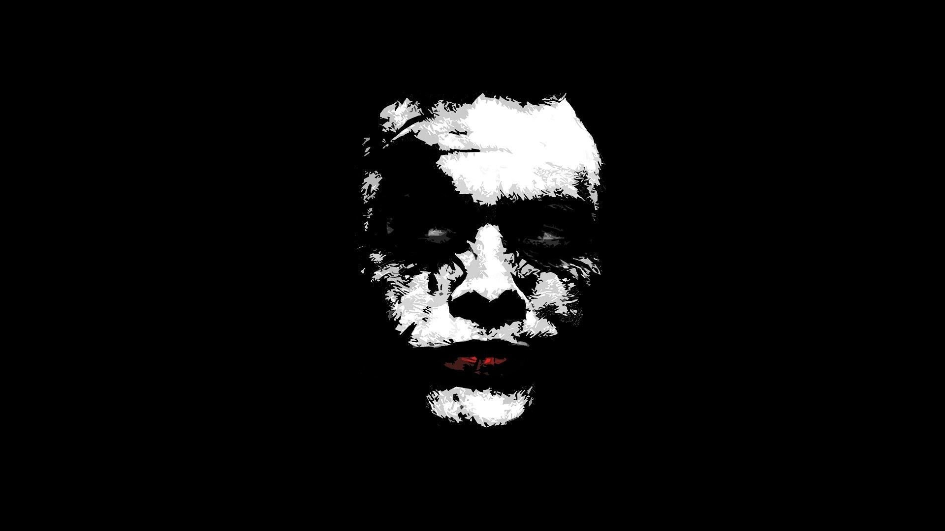 Joker Black And White Wallpapers Top Free Joker Black And White Backgrounds Wallpaperaccess