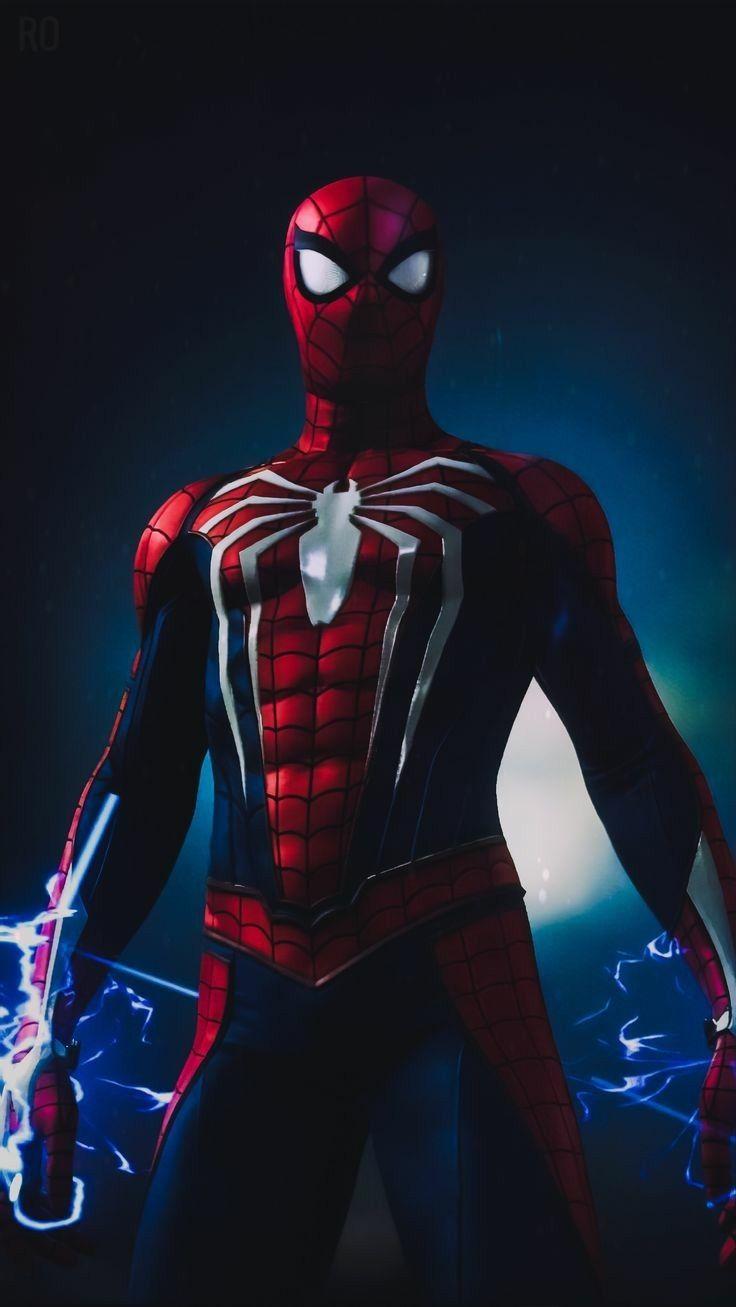 Hình nền điện thoại Người nhện đẹp 736x1307 2020
