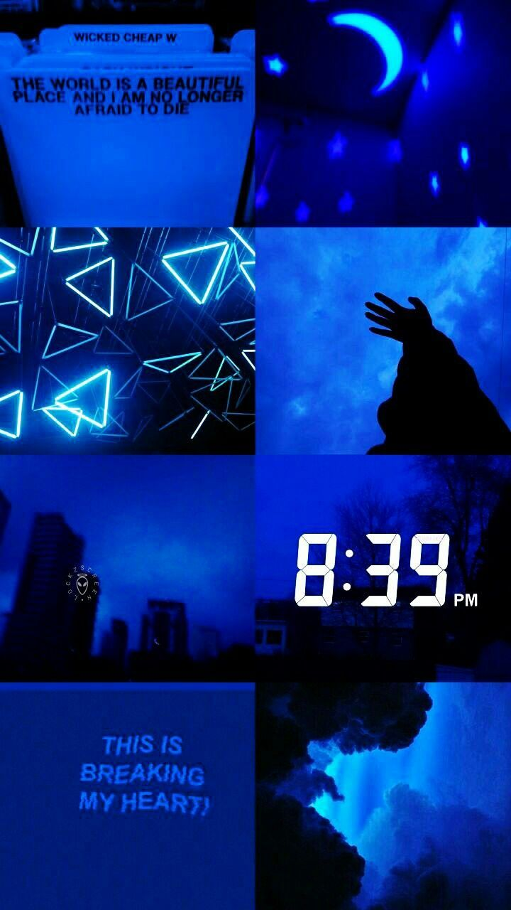 Blue Aesthetic Tumblr Wallpapers Top Free Blue Aesthetic Tumblr