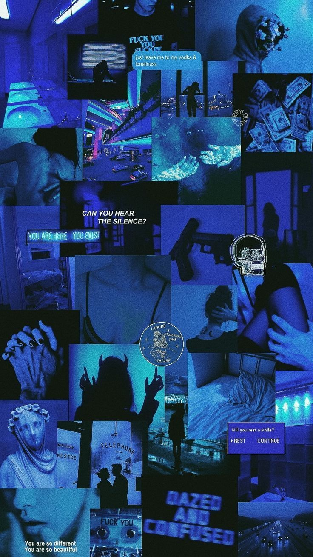 Dark Blue Aesthetic Tumblr Wallpapers Top Free Dark Blue Aesthetic Tumblr Backgrounds Wallpaperaccess