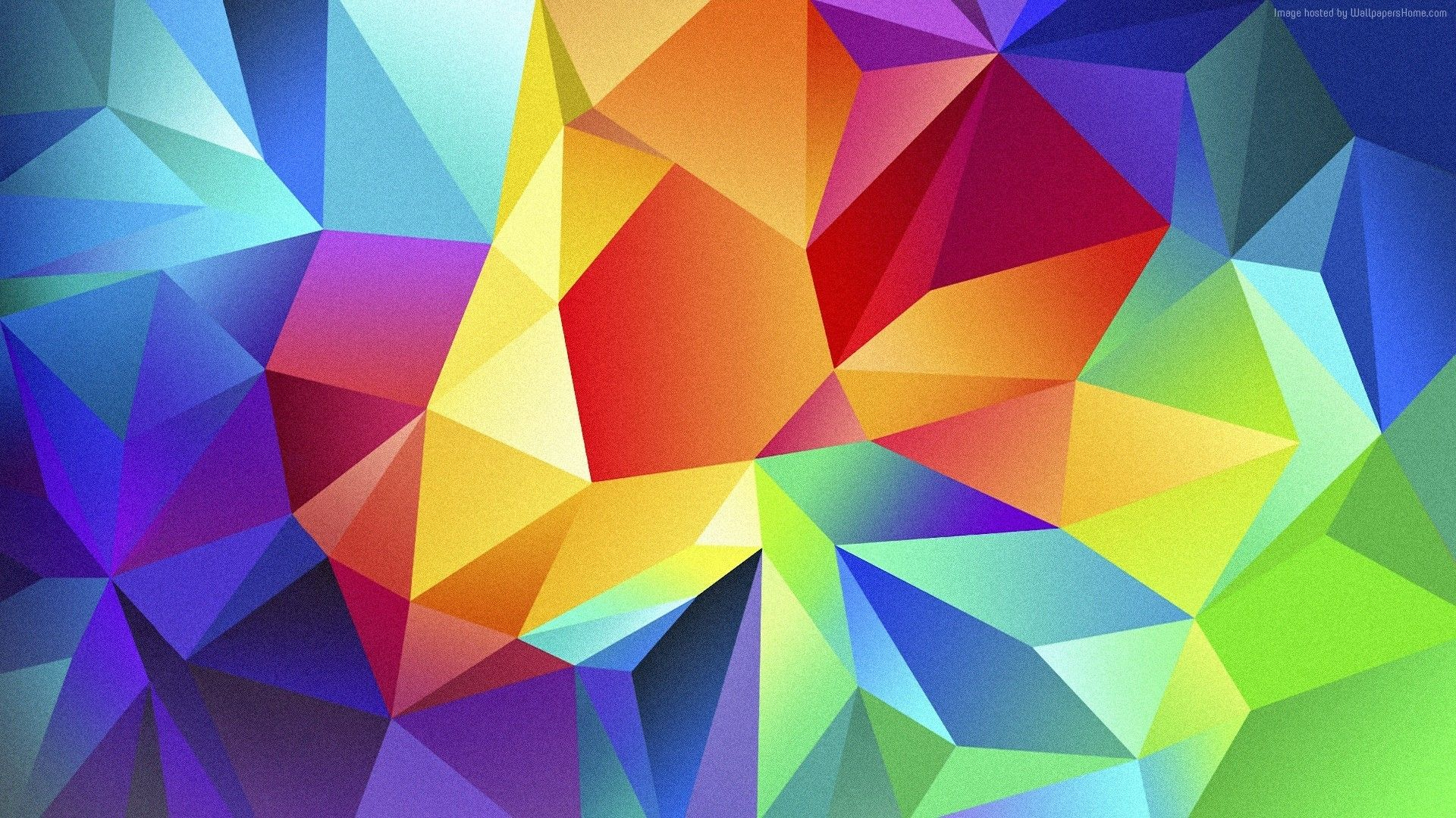 Colorful Polygon Wallpapers Top Free Colorful Polygon