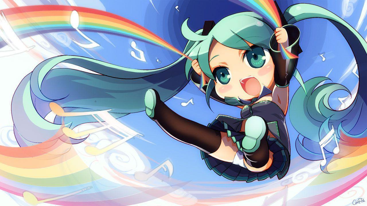 Chibi hatsune miku wallpapers top free chibi hatsune miku backgrounds wallpaperaccess - Chibi background ...