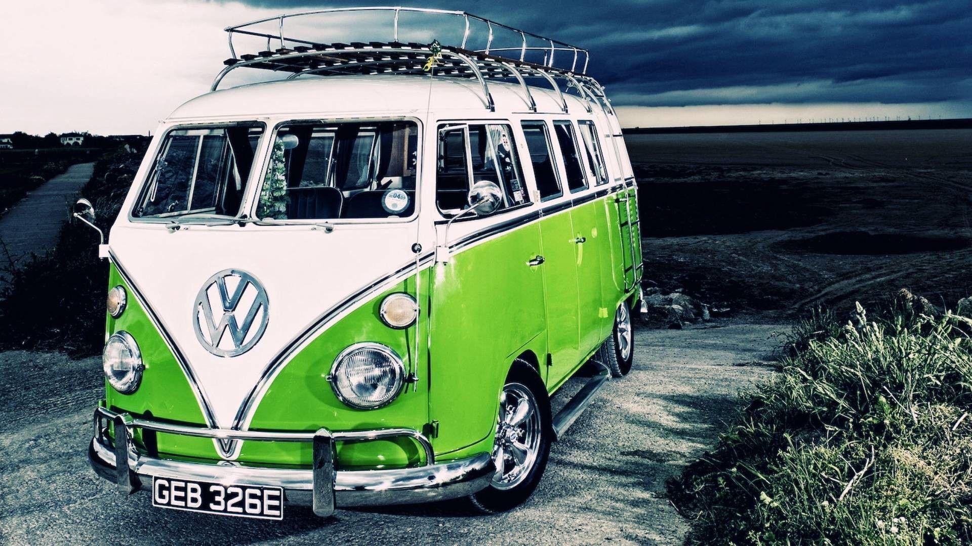 Volkswagen Van Wallpapers Top Free Volkswagen Van Backgrounds Wallpaperaccess