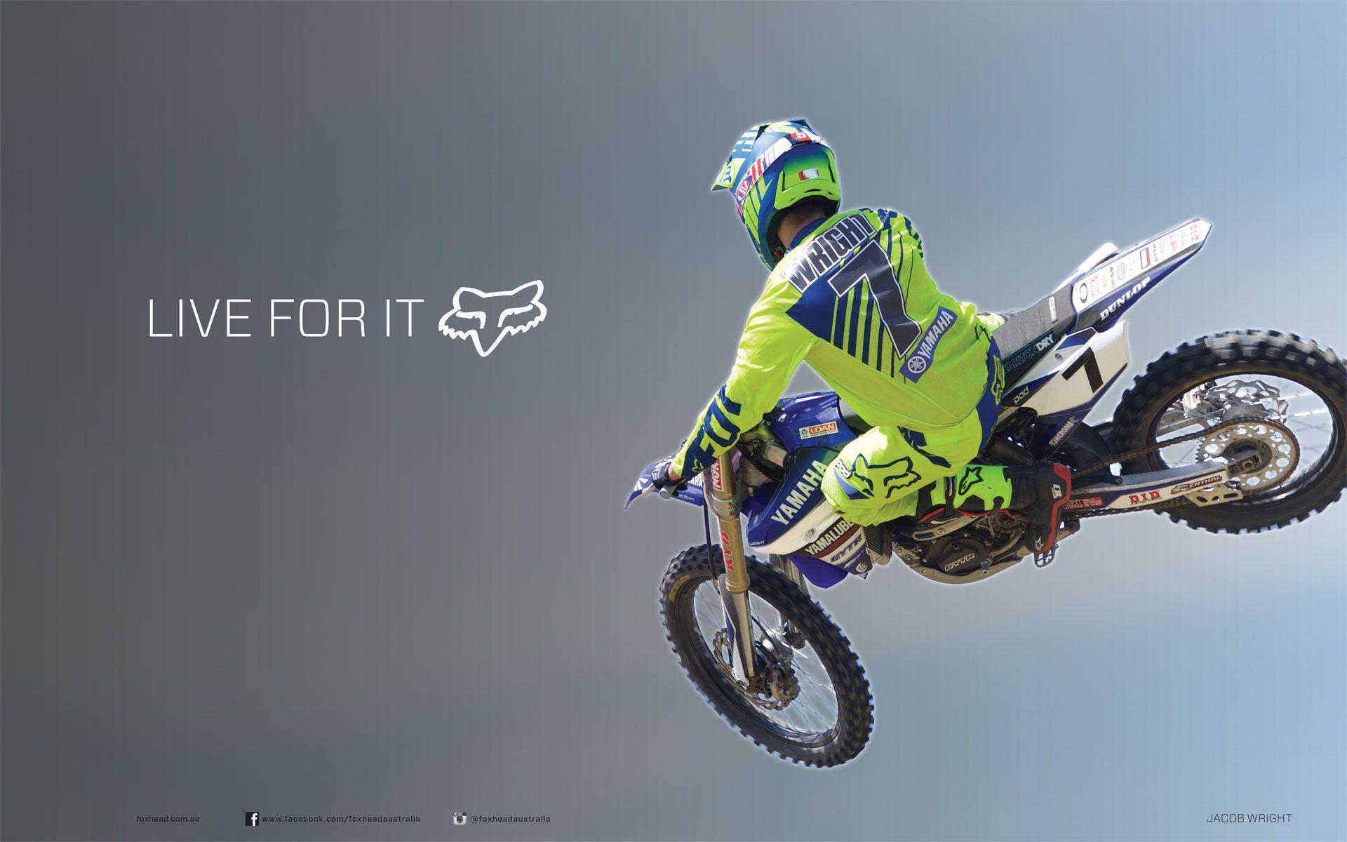 Fox Motocross Wallpapers Top Free Fox Motocross Backgrounds Wallpaperaccess