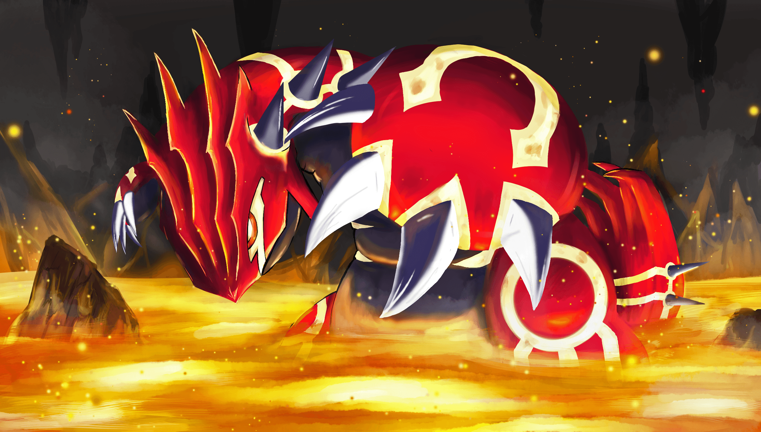 Groudon Wallpapers Top Free Groudon Backgrounds