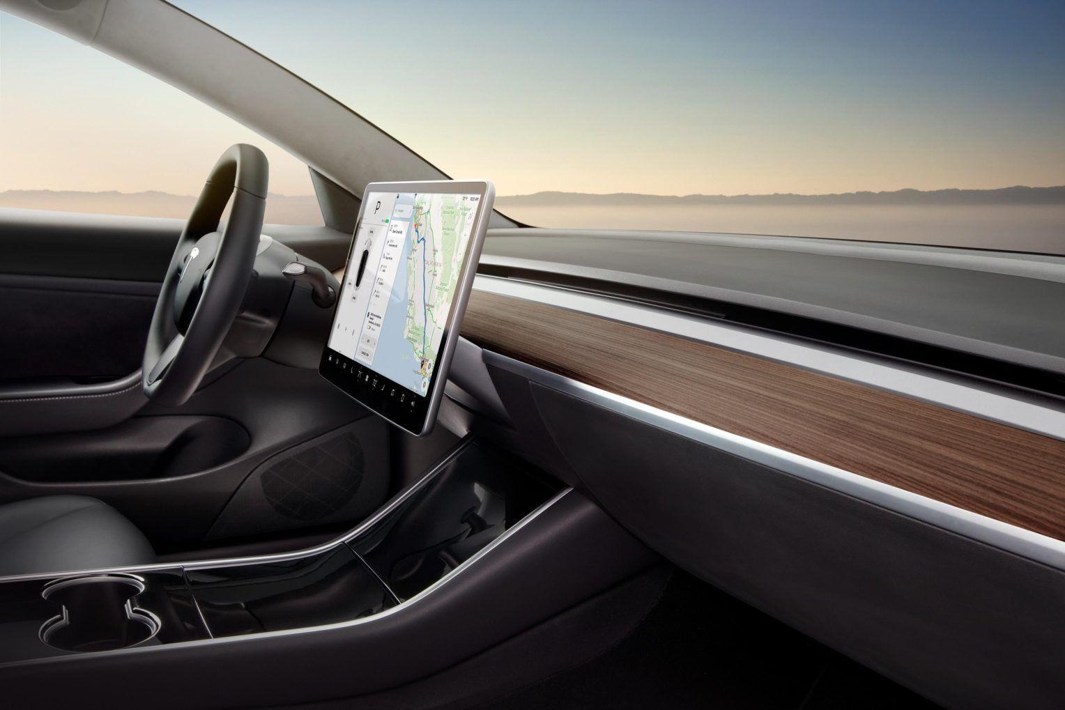 Tesla Model 3 Interior Wallpapers - Top Free Tesla Model 3 ...