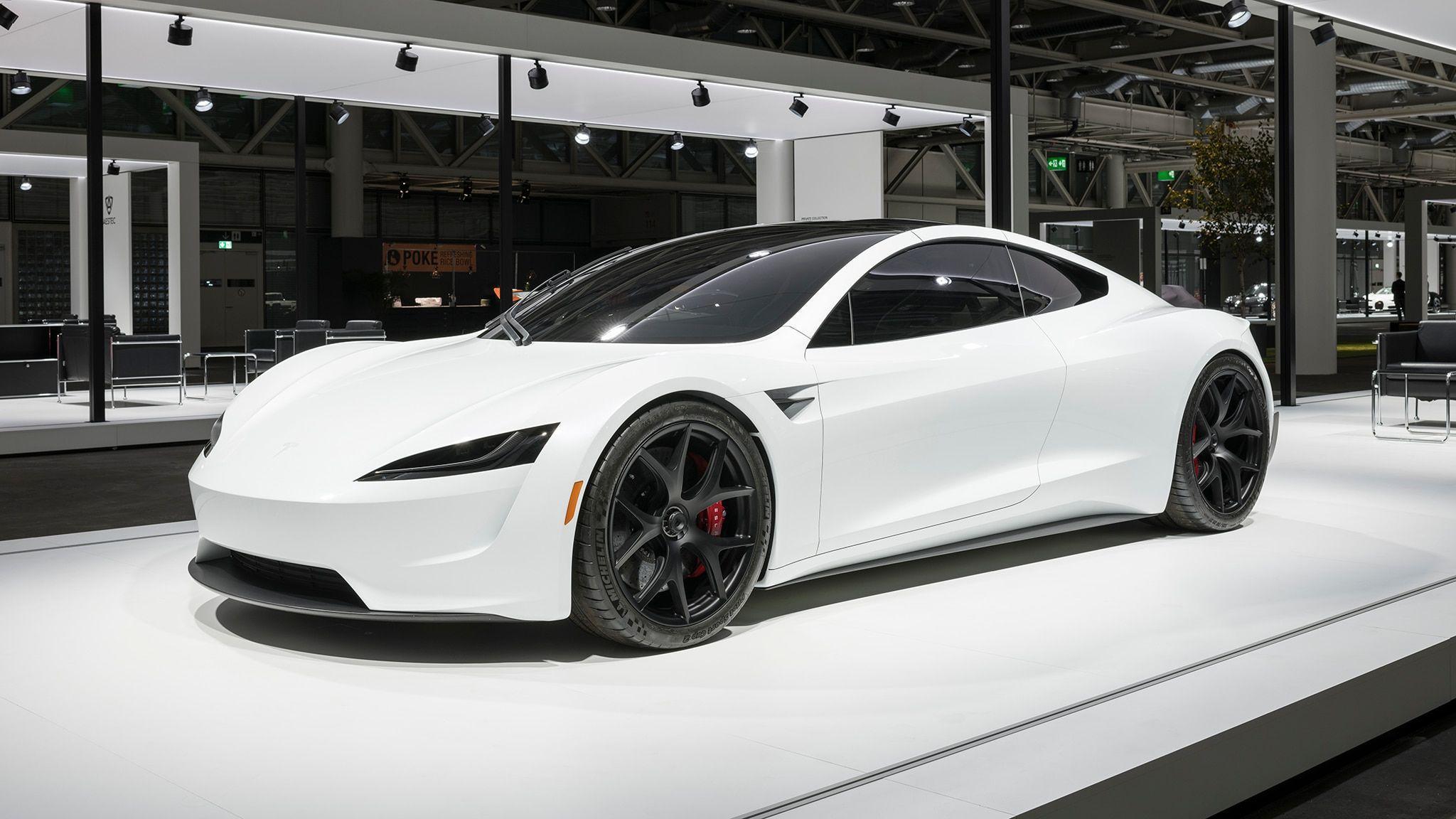 Tesla Roadster 2020 Wallpapers Top Free Tesla Roadster 2020 Backgrounds Wallpaperaccess
