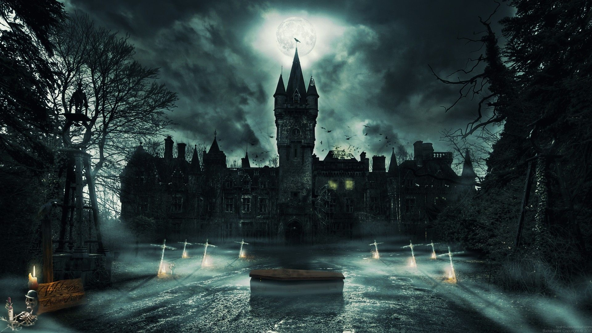 Dark Castle Wallpapers Top Free Dark Castle Backgrounds
